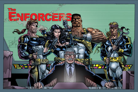 THE ENFORCERS poster #1