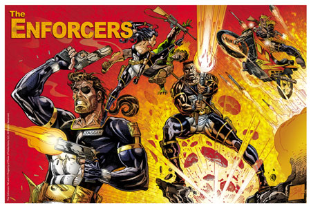 THE ENFORCERS poster #2